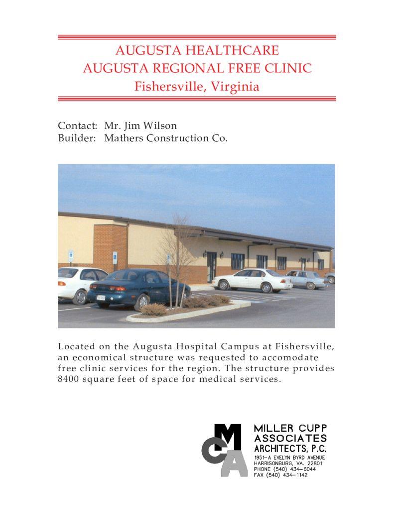 Augusta Free Clinic