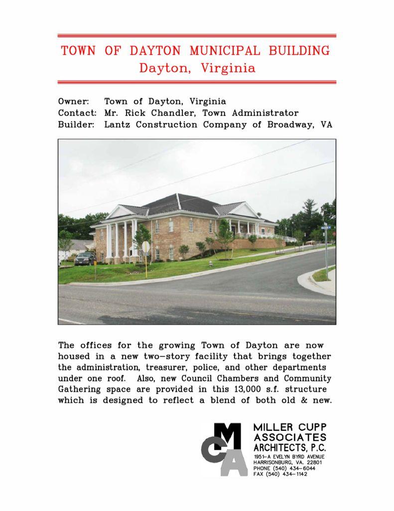 Town of Dayton Municipal