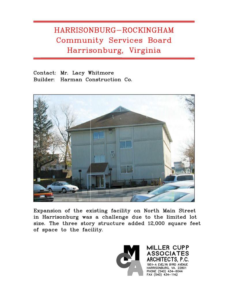 Harrisonburg-Rockingham Community Services Board